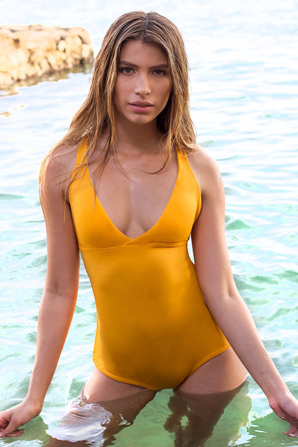 Collins Mustard One Piece