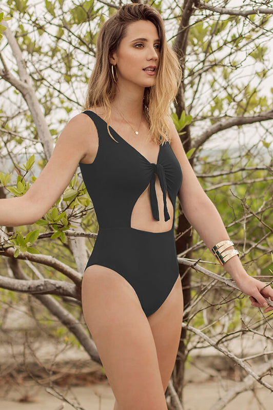 Paige Black One Piece