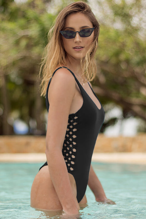Jess Black One Piece