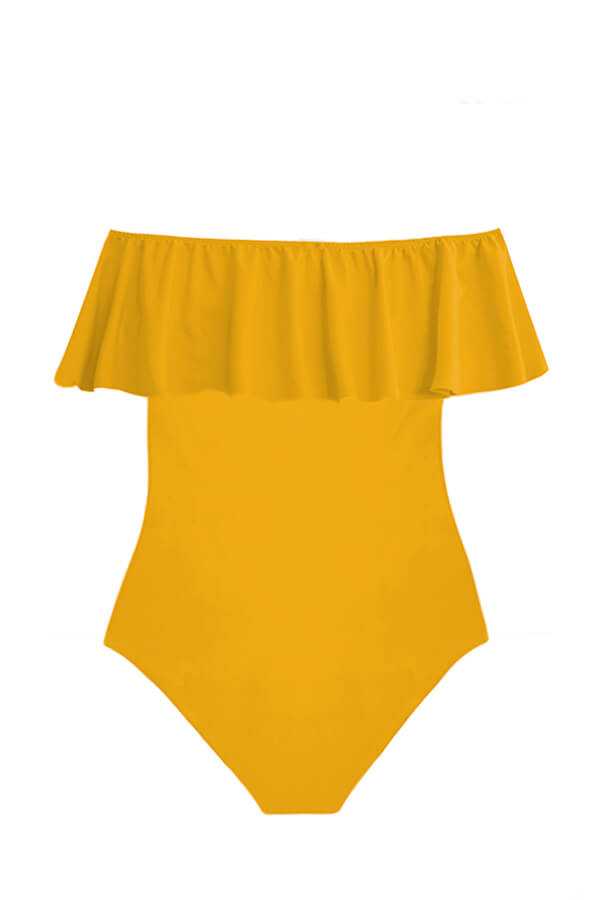 Alegra Mustard One Piece