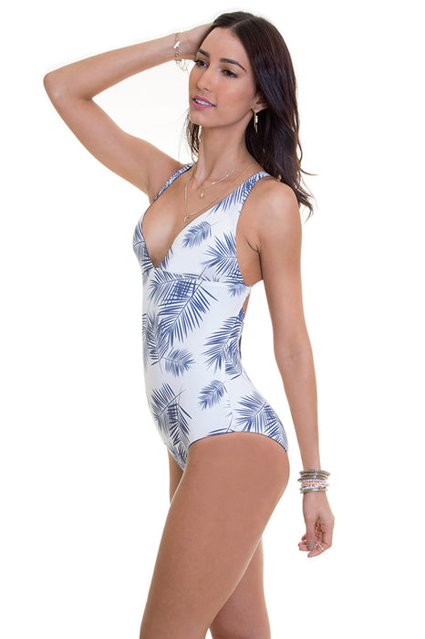 Collins Indigo Tropicalia One Piece