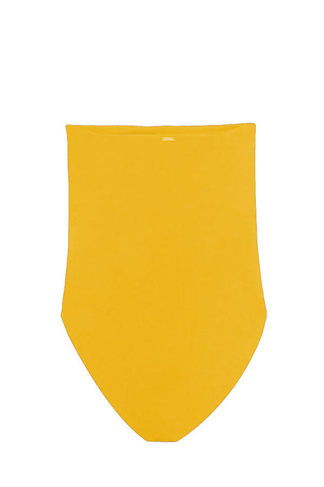 Alyssa Mustard One Piece - Size Small