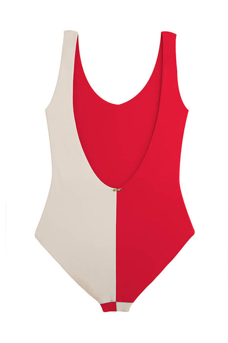 Ari Cherry Red One Piece