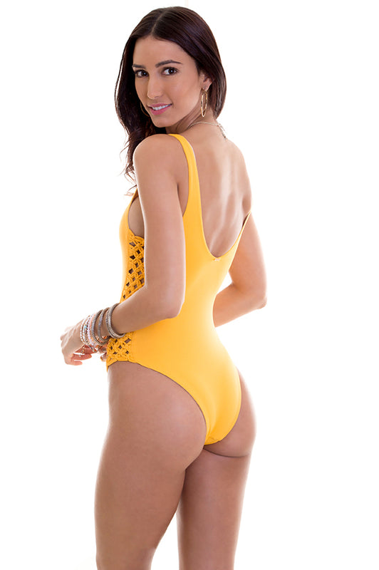 Jess Mustard One Piece