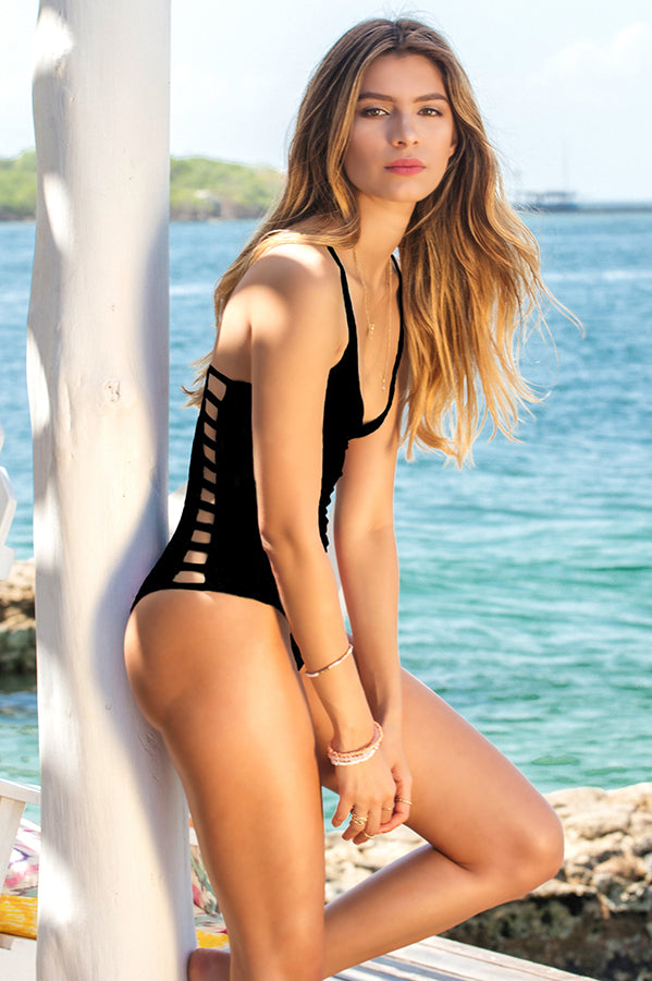 Fefe Black One Piece