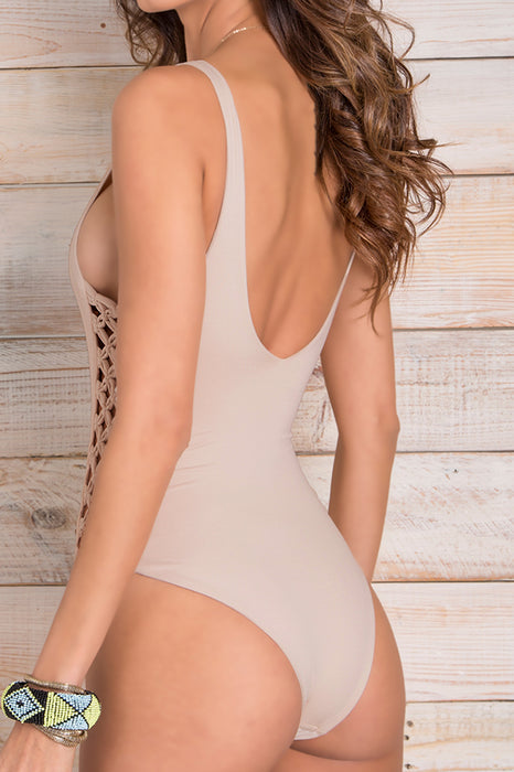 Jess Beige One Piece