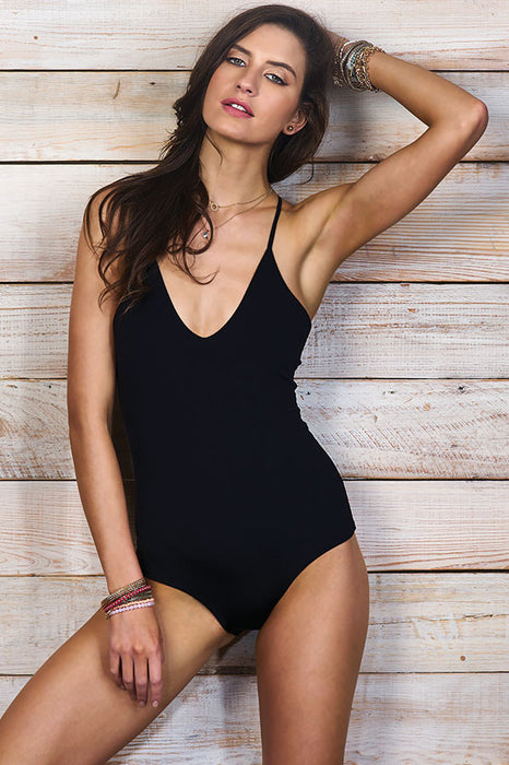 Ezra Black One Piece