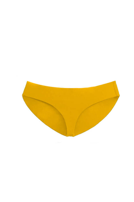 maylana full coverage bottom mustard swimsuit