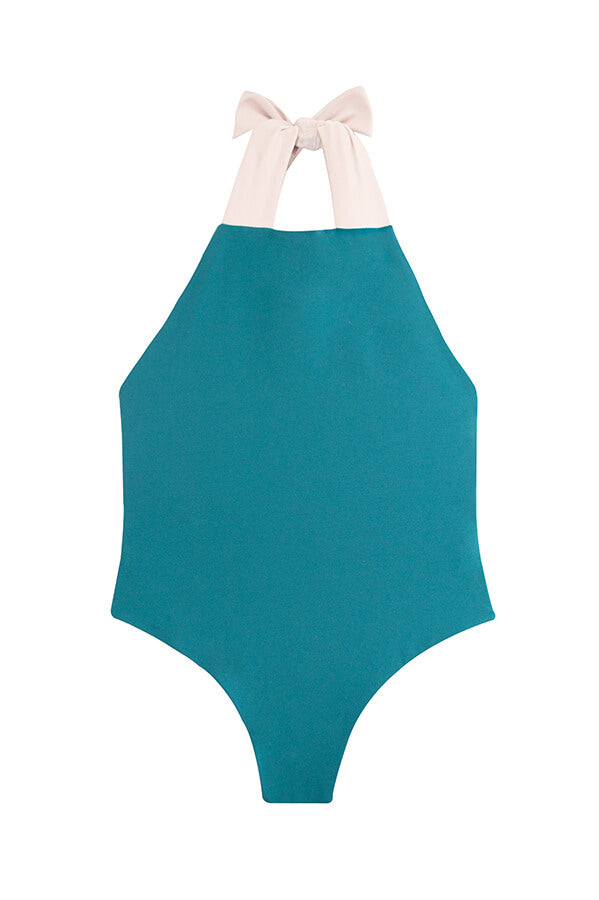 Maylana one piece bathing suit for little girls
