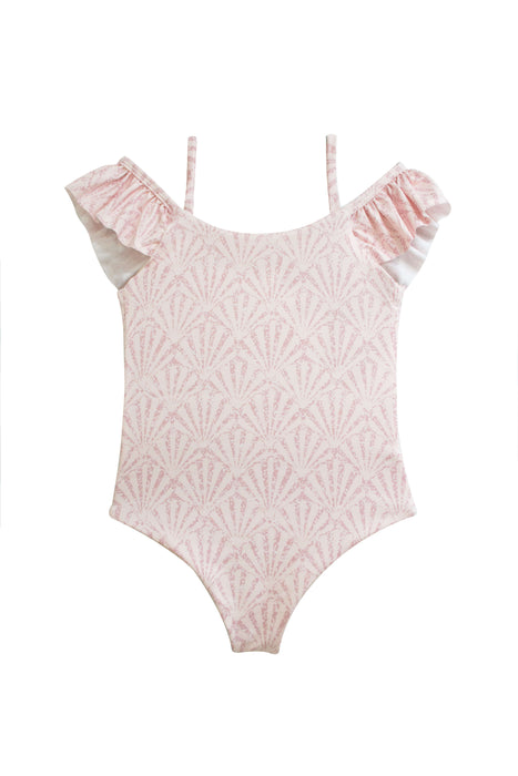 KIDS Maya Shell Rose One Piece