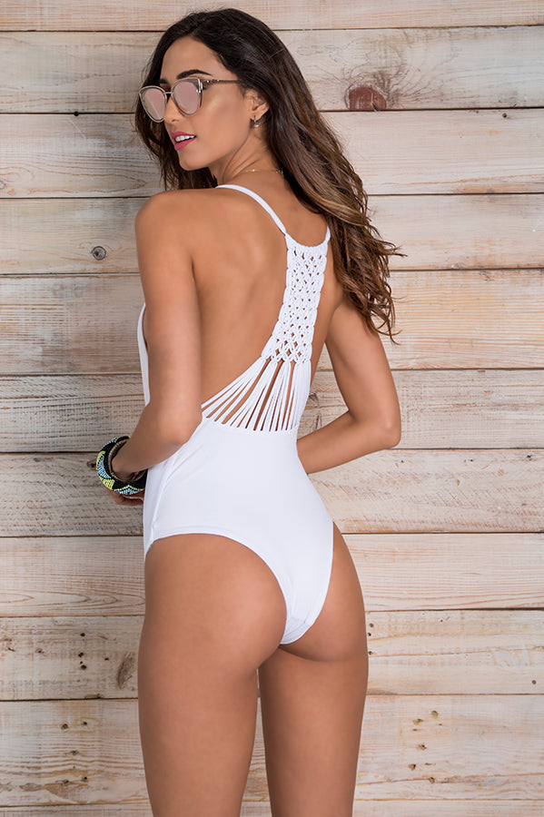 Leif White One Piece