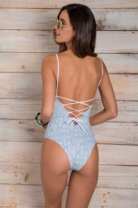 Kamila Gray One Piece
