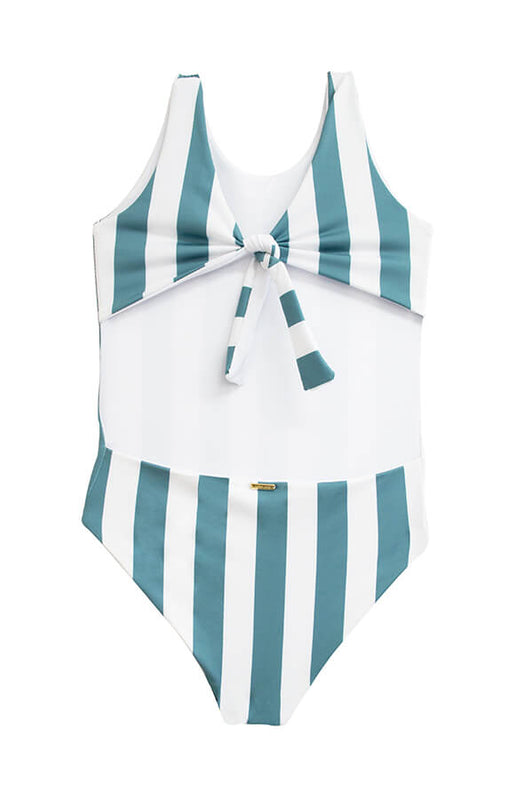 KIDS Janie Ocean's Stripes One Piece