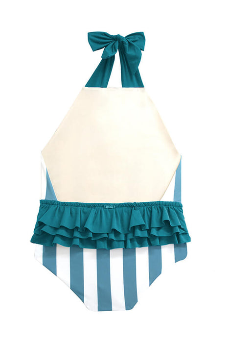KIDS Layla Ocean's Stripes One Piece