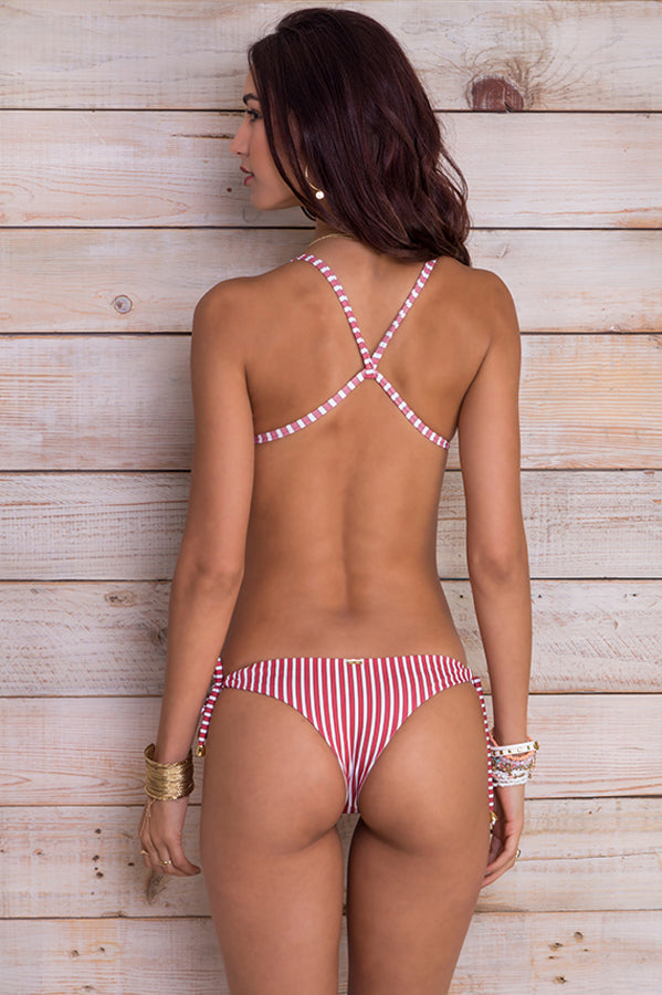 Ulie Red Stripes Bottom