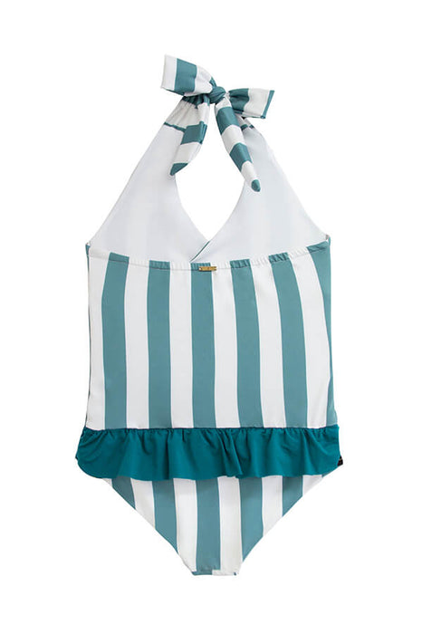 KIDS Nikki Ocean's Stripes One Piece