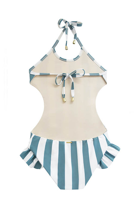KIDS Shana Ocean's Stripes One Piece