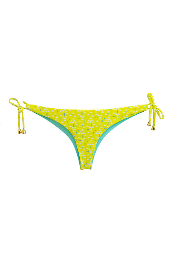 Ulie Yellow Triangles Bottom