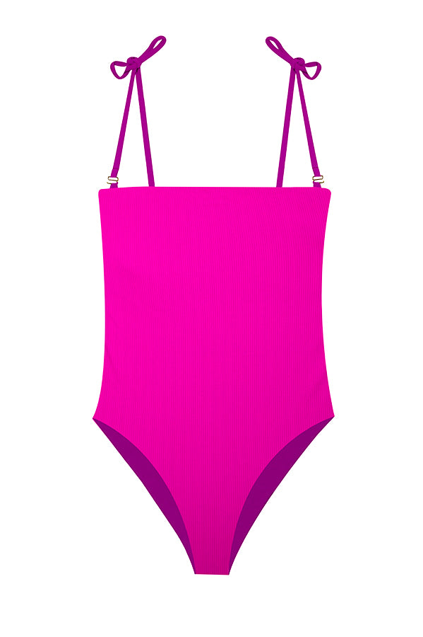 Adrienne Pop Ribbed One Piece