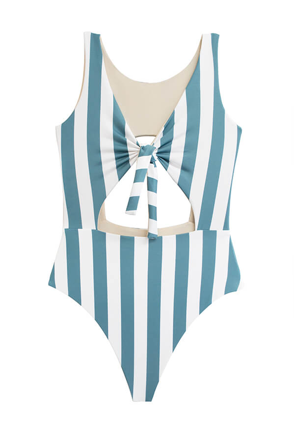 Paige Ocean's Stripes One Piece