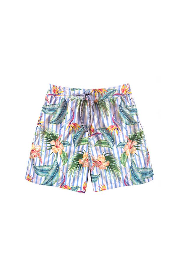 Kona Heliconia Stripes Trunks