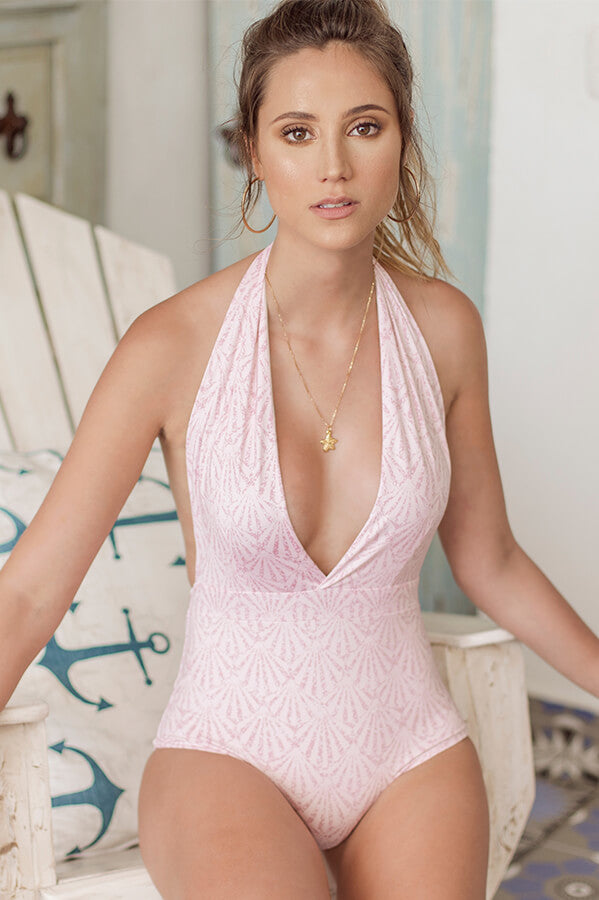 Ella Shell Rose One Piece