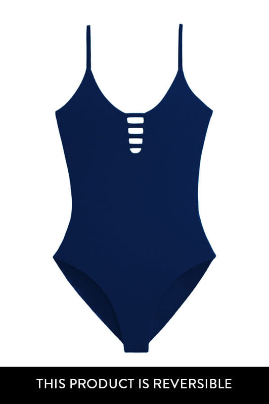 Stasia Indigo Tropicalia One Piece