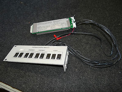 Keithley 2001-TSCAN 10-Ch Scanner Card Wired w/ Thermocouple Inputs Rack