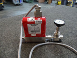 Stec SEF-4500R Mass Flow Controller w Cable & Nupro Valve, Gas N2, Flow Rate 20
