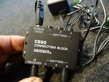 Xantech CB60 Connecting Block 1-6 Emitters w/ 12V Power Supply & 2 Cables