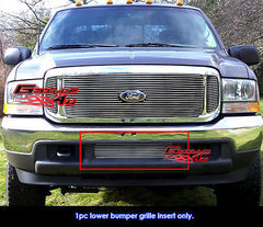1999-2004 Ford F-250/F-350/F-450/Excursion Stainless Bumper Billet Grille