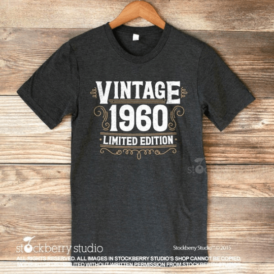 Vintage 50th Birthday Shirt