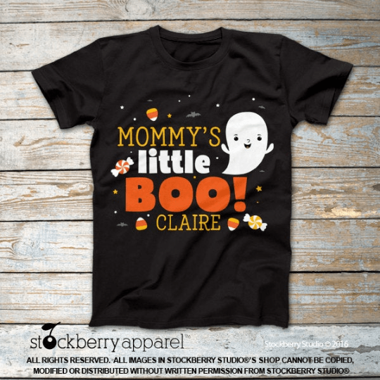 Mommy's Little Boo Halloween Shirt