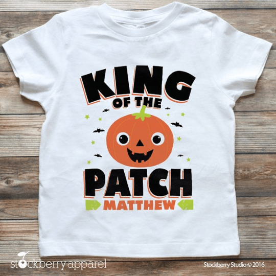 King of the Patch Halloween Shirt - Stockberry Studio