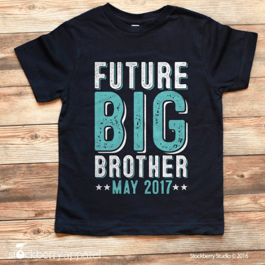 Future Big Brother Shirt Pregnancy Announcement Custom