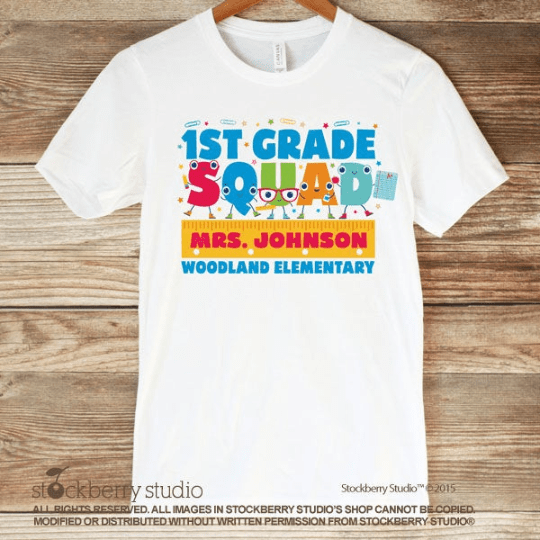 Teacher Squad Shirt - Teacher Team Shirt