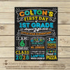 First Day of School Sign School Printables First Day of School Chalkboard Sign - Stockberry Studio
