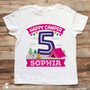Boy Camping Birthday Shirt - Stockberry Studio