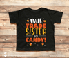 Will Trade Brother for Candy Halloween Shirt - Stockberry Studio