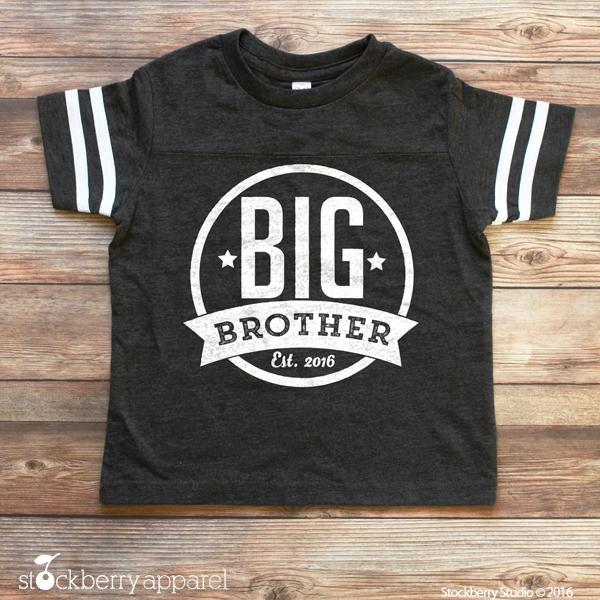 Big Brother Shirt - Big Brother Announcement Shirt - Big Brother Gift - Stockberry Studio