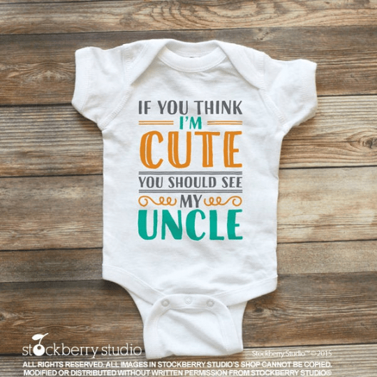 Uncle Baby Shirt - Stockberry Studio