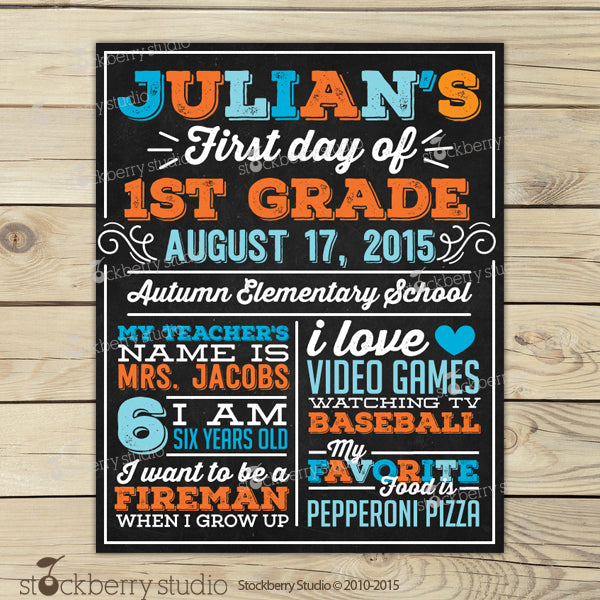 picture about First Day of 1st Grade Printable Sign referred to as 1st Working day of Higher education Indication Back again towards University Printable 1st Working day of College or university Signal