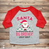 Christmas Big Brother Pregnancy Announcement Shirt