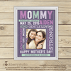 Mom Wall Art - Mom Birthday Gift - First Mother's Day Gift Printable - Stockberry Studio