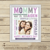 Mom Wall Art - Mom Birthday Gift - First Mother's Day Gift Printable