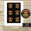 Halloween Favor Tags - Printable