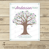 Grandmother Mothers Day Family Tree - Fathers Day Gift Printable - Stockberry Studio