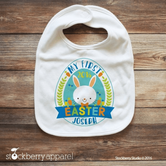 Easter Bib - Stockberry Studio