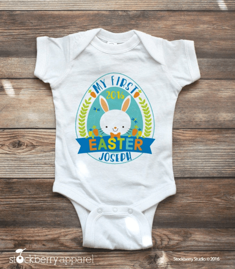 My First Easter Shirt - Stockberry Studio