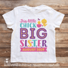 Big Sister Easter Pregnancy Announcement Shirt - Little Chick